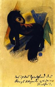 Franz Marc - King Abegail's Toy Horse