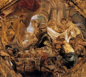 Peter Paul Rubens - King Solomon and the Queen of Sheba