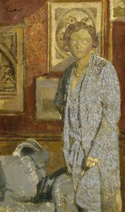 Walter Richard Sickert - Lady in Blue (also known as Lady Berwick)