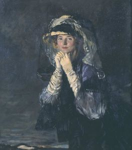 William Newenham Montague Orpen - Lady Orpen
