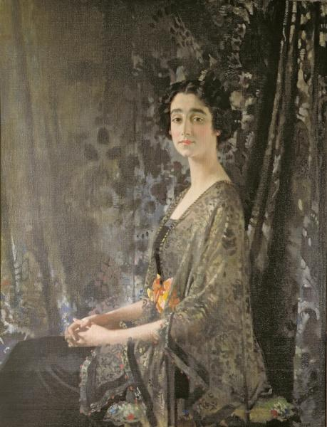 Lady Rocksavage by William Newenham Montague Orpen (1878-1931, Ireland)