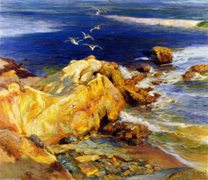Laguna Beach, 1929 by Mathias Joseph Alten (1871-1938) | Museum Art Reproductions Mathias Joseph Alten | WahooArt.com