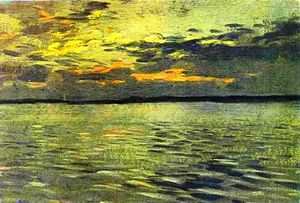 Isaak Ilyich Levitan - The Lake. Eventide