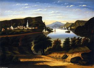 Thomas Chambers - Lake George and the Village of Caldwell