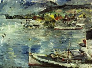 Lovis Corinth (Franz Heinrich Louis) - Lake Lucerne, Morning