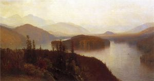Samuel Colman - Lake Placid, Adirondacks