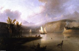 Thomas Doughty - Lake Scene