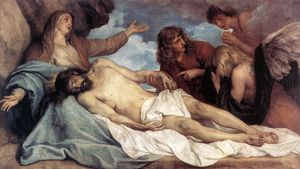 Anthony Van Dyck - The Lamentation of Christ
