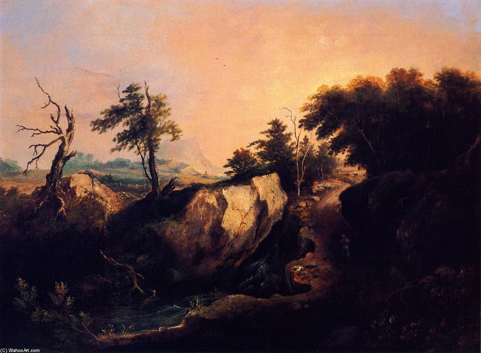 Landscape, 1837 by Charles Codman (1800-1842, United States) | Art Reproduction | WahooArt.com