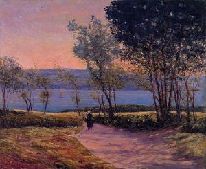 Maxime Emile Louis Maufra - Landscape by the Water