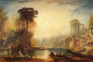 William Turner - Landscape: Composition of Tivoli