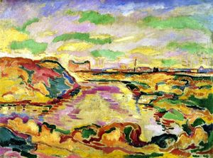 Georges Braque - Landscape near Antwerp