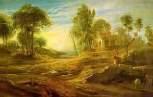 Peter Paul Rubens - Landscape with a Watering Place