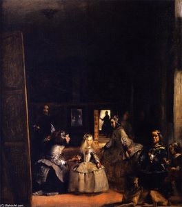 Order Famous Paintings Reproductions : Las Meninas (after Velazquez), 1879 by John Singer Sargent (1856-1925, Italy) | WahooArt.com