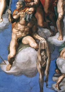 Michelangelo Buonarroti - Last Judgment (detail) (8)