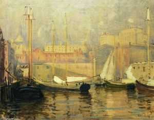 Arthur Clifton Goodwin - Last Look - T Wharf