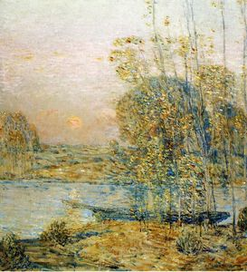 Frederick Childe Hassam - Late Afternoon (also known as Sunset)