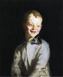 Robert Henri - The Laughing Boy (also known as Jobie)