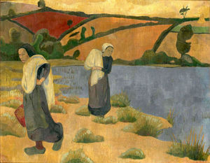 Paul Serusier - Laundresses at the River