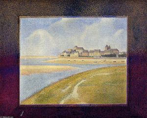 Georges Pierre Seurat - Le Crotoy, Upstream