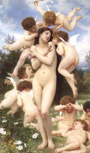 William Adolphe Bouguereau - Le Printemps (also known as The Return of Spring)