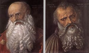 Albrecht Durer - The Apostles Philip and James