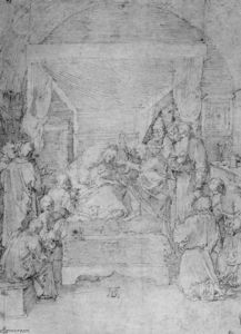 Albrecht Durer - Death of the Virgin