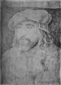 Albrecht Durer - Portrait of Christian II, King of Denmark