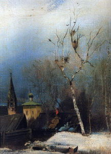 Aleksey Savrasov - Early Spring