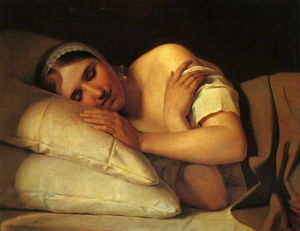Alexey Venetsianov - Sleeping Girl