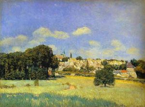 Alfred Sisley - View of St Cloud