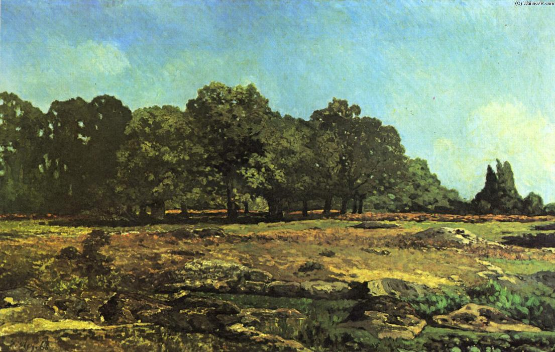 Avenue of Chestnut Trees near La Celle Saint Cloud, Oil On Canvas by Alfred Sisley (1839-1899, France)