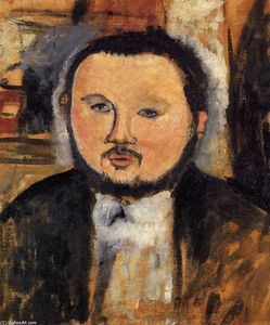 Amedeo Modigliani - Portrait of Diego Rivera