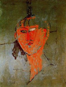 Amedeo Modigliani - The Red Head