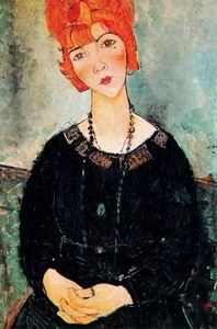 Amedeo Modigliani - Woman With a Necklace