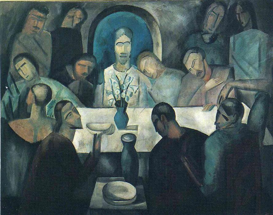 The Last Supper of Jesus, 1911 by André Derain (1880-1954, France) | WahooArt.com