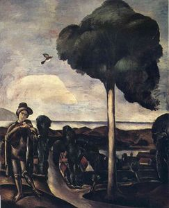 André Derain - The Bagpiper at Camiers