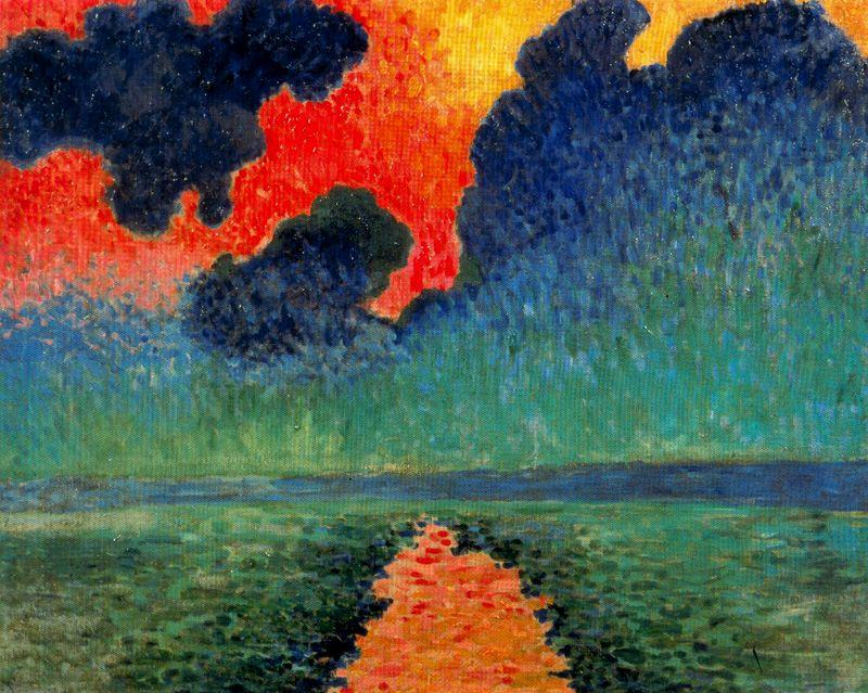 Effect of Sun on the Water, London, 1906 by André Derain (1880-1954, France) | Art Reproduction | WahooArt.com