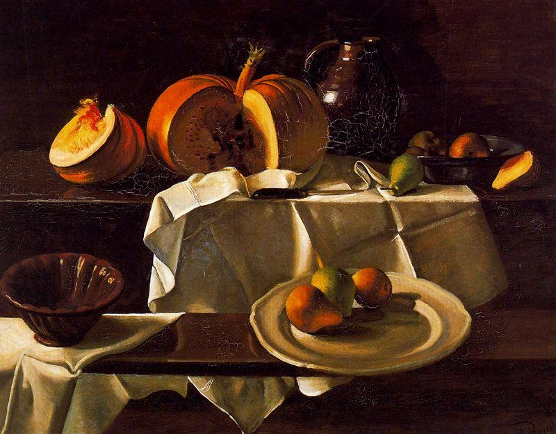 The Still life with Pumpkin, 1939 by André Derain (1880-1954, France) | Museum Quality Reproductions | WahooArt.com