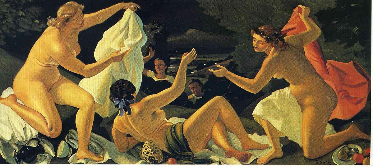 The Surprise, Oil On Canvas by André Derain (1880-1954, France)