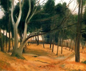 André Derain - The Path of forest