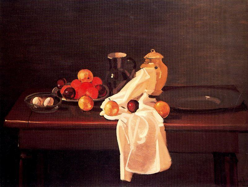 Still Life with Oranges, Oil On Canvas by André Derain (1880-1954, France)