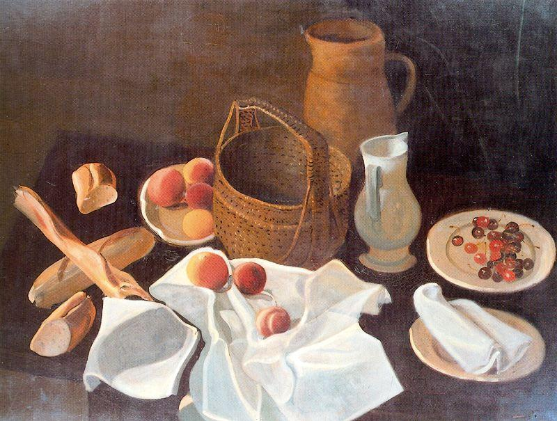 Still life, 1939 by André Derain (1880-1954, France) | Oil Painting | WahooArt.com