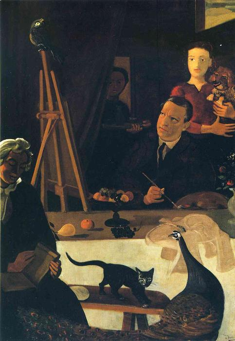 The Painter and his Family, 1939 by André Derain (1880-1954, France)