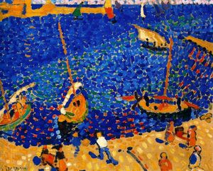 André Derain - Boats at Collioure