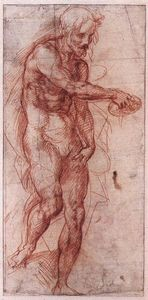 Andrea Del Sarto - Study for the Baptism of the People