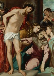 Andrea Del Sarto - Christ at the Scourge Column