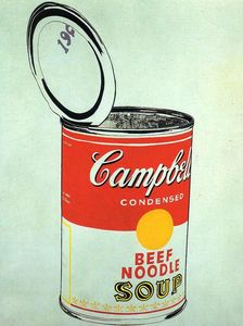 Andy Warhol - Campbell-S Soup Can (beef)