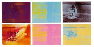 Andy Warhol - Electric Chair