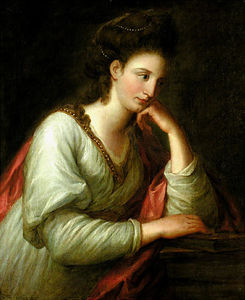 Angelica Kauffman (Maria Anna Angelika) - Portrait of Mme Latouce